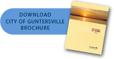 Click to download the City of Guntersville brochure (approx. 2 MB)